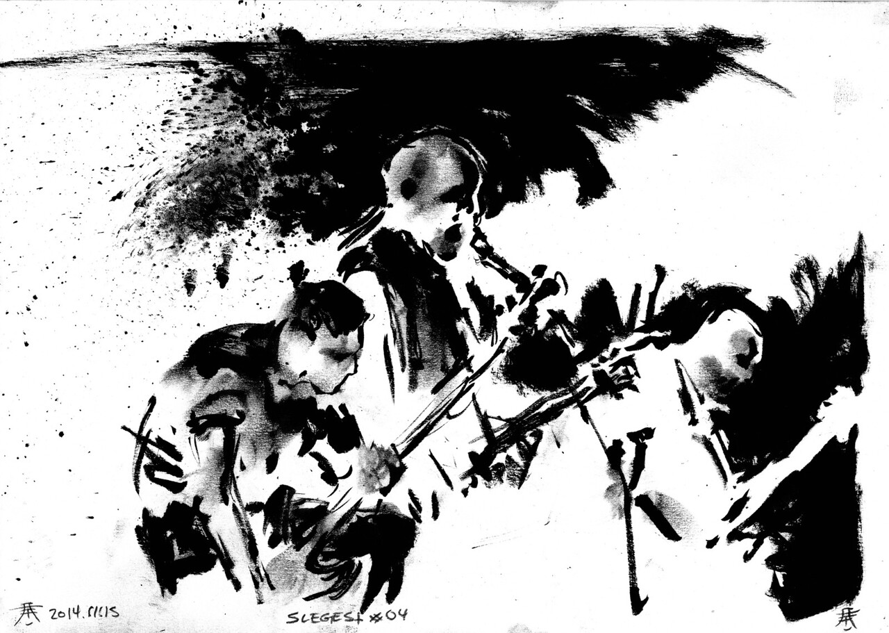 Original for sale for 65$. A4 size (29,7cm x 21cm). Worldwide shipping included!   Drawn by the side of the stage, live during concerts. Presented as the were drawn, not edited or corrected afterwards.  Made possible with support from you at http://www.patreon.com/kimholm