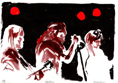 Originals for sale for only 65$. A4 size (29,7cm x 21cm). Worldwide shipping included!  Drawn by the side of the stage, live during concerts. Presented as the were drawn, not edited or corrected afterwards