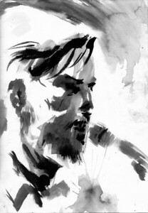 This work is licensed under a Creative Commons Attribution 4.0 International License.  In other words, available for free use, as long as you remember to site me as the artist.  (Remember that these works are drawn live, depicting real people and bands, so do not abuse their likeness).