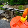 KRISTOPHER RADDER - BRATTLEBORO REFORMER<br /> A sinkhole formed on Williams Street in Brattleboro after one of the strong storms that came through the Brattleboro area on Monday, June 19, 2017.