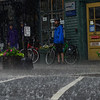 KRISTOPHER RADDER - BRATTLEBORO REFORMER<br /> People take cover as a band of strong storms came through the Brattleboro area.