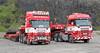 Line up of trucks at Hillhead 2012