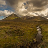 The Cuillin Hills near Sligachan