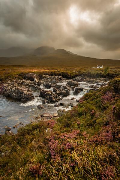 Allt Dearg Mor and the Cuillin mountains – Skye