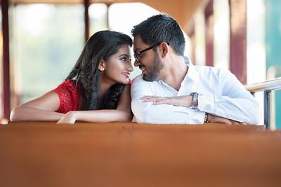 HeenaManthan Engagement Photos