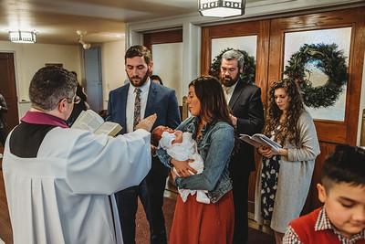 1057 Fr  Heffernan LatinMass baptism