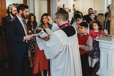 1021 Fr  Heffernan LatinMass baptism