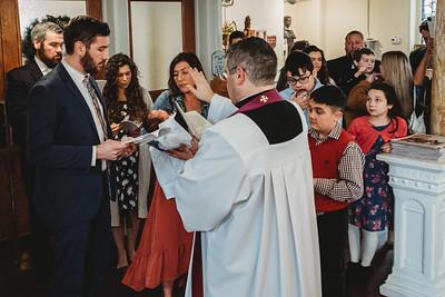1022 Fr  Heffernan LatinMass baptism