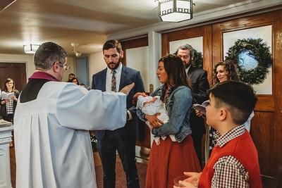 1054 Fr  Heffernan LatinMass baptism