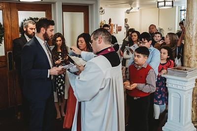 1018 Fr  Heffernan LatinMass baptism