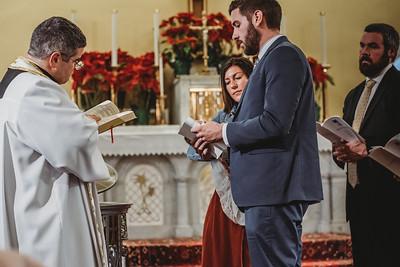 1078 Fr  Heffernan LatinMass baptism