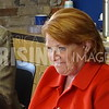 Heidi Heitkamp At Medicaid-SNAP Discussion In Bismarck, ND