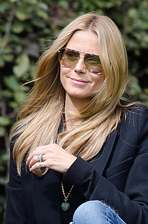 Heidi Klum spotted in Brentwood