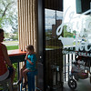 """Lauren Winer and her daughter Coppen Winer, 3, eat ice cream at Heifer and the Hen in Boulder on Thursday.<br /> More photos:  <a href=""""http://www.dailycamera.com"""">http://www.dailycamera.com</a><br /> Autumn Parry/Staff Photographer<br /> May 5, 2016"""