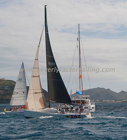 RACE BOATS - Race Day 3 - Shot from Blue Fin