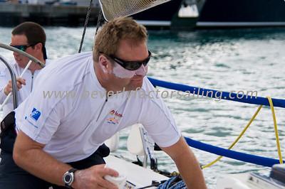 Heineken Regatta Commodore's Cup 2012- El Ocaso CREW ACTION