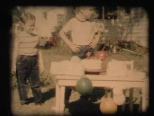 David's First Birthday