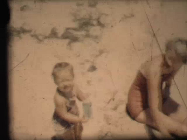 At the Beach 1954