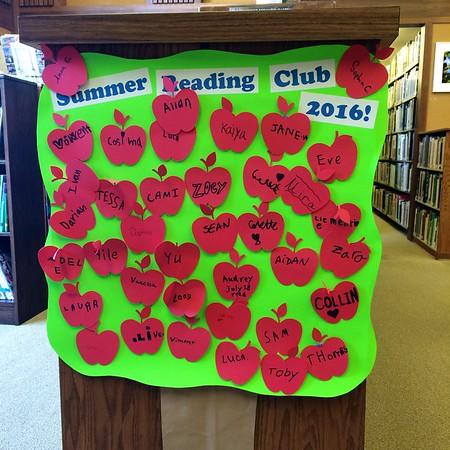 Summer Reading Club Participants, 2016