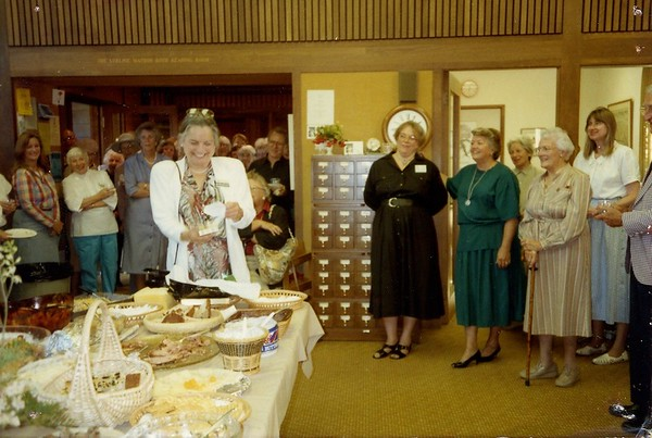 Jane Gates' Farewell Party, 1989