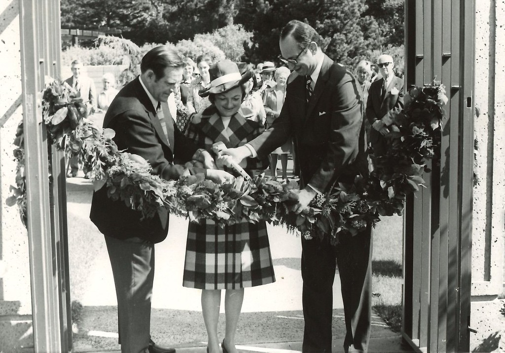 Opening Day of the Library, September 12, 1972