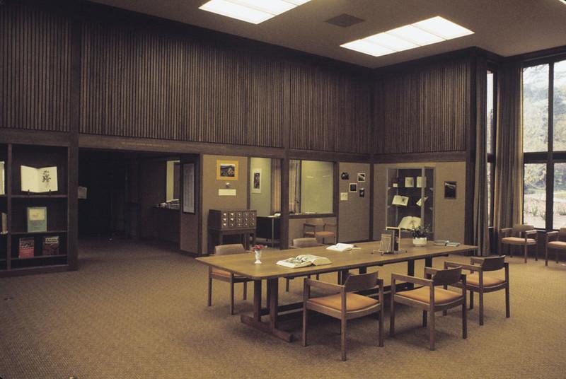 Library Interior, 1972