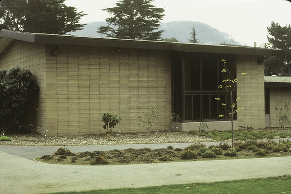Library Exterior, 1972