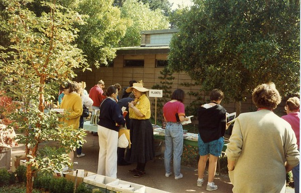 Library Used Book Sale, 1992