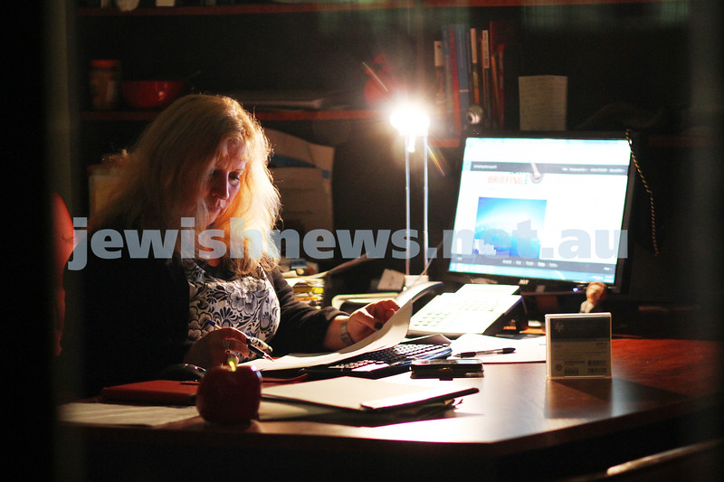 A week in the life. Helen Greenberg. Principal, Sholem Aleichem College. after hours. Photo: Peter Haskin
