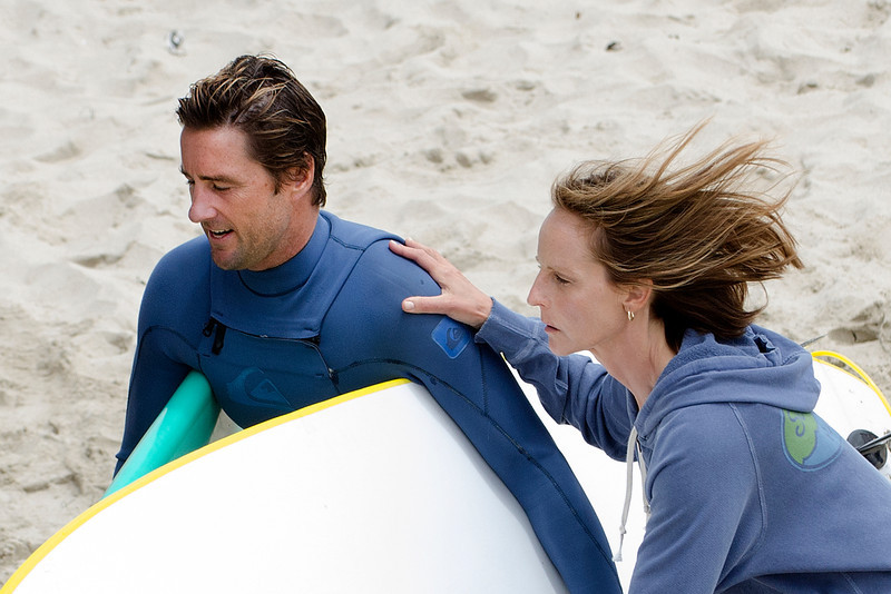 Helen Hunt and Luke Wilson Seen in Venice