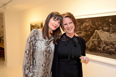 "EAST VILLAGE, NEW YORK - OCTOBER 21: Helene Schmitz ""Kudzu Project"" opening at the TURN Gallery on October 21, 2015 in East Village, New York. (Photo by Lukas Maverick Greyson)"