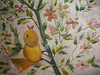 """This small watercolor (5 x 7) is entitled """"Hear Me!""""  He is a charming little yellow bird that wants to be heard--chirping from an apple blossem tree.  I enjoy this piece very much."""