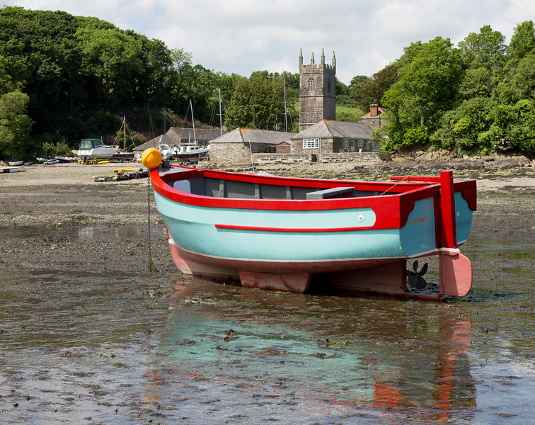 St Anthony at low tide