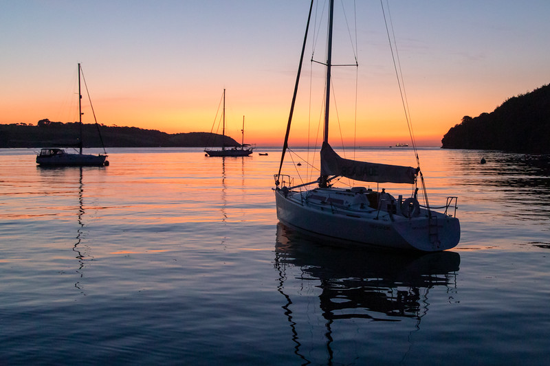 Sunset on the River Helford