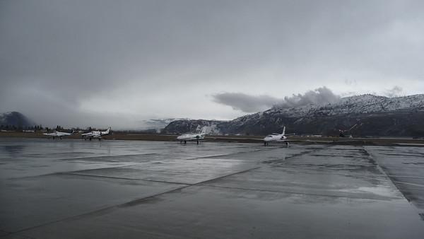 Landing in Kamloops, BC