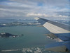 Flying into Cordova from Anchorage.