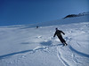 """About the only hundred feet of """"powder"""" that we found!"""