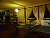 We played a lot of ping pong.