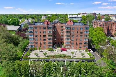 40 West Elm St Greenwich 05-2019 DMP aerial stock 05
