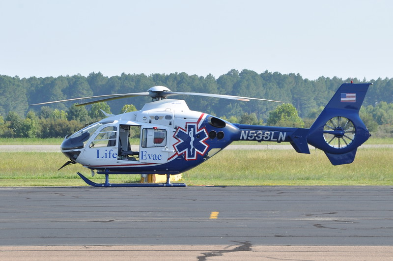 Life Evac III<br /> N538LN<br /> 200? Eurocopter EC-135P-2<br /> s/n 0480<br /> <br /> <br /> 8/27/14 Middle Penninsula Airport KFYJ