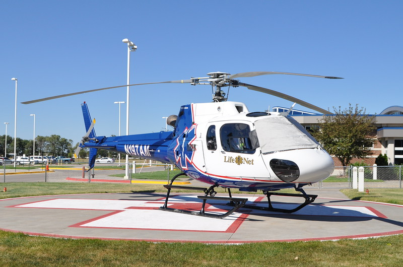 Life Net 1-?<br /> 1996 Eurocopter AS 350 B2<br /> c/n 2917<br /> N197AM<br /> <br /> 9/22/13