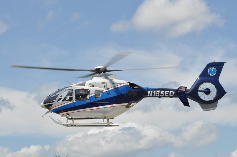 N135ED<br /> 2004 Eurocopter EC-135P-2<br /> s/n 0335<br /> <br /> ex JeffStat<br /> <br /> 8/31/14 Sentara Williamsburg Regional Medical Center