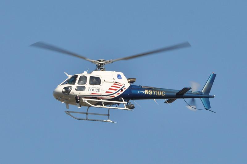Condor 1 / Falcon 1<br /> N911DC<br /> 2001 Eurocopter AS 350 B3<br /> s/n 3427<br /> <br /> 2/12/15 Anacostia Park