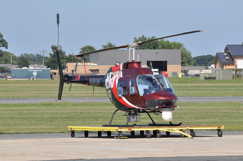 WJZ 13 News/ HELICOPTERS INC <br /> N8QV<br /> 1981 Bell 206B<br /> c/n 3434<br /> <br /> 9/12/14 MTN