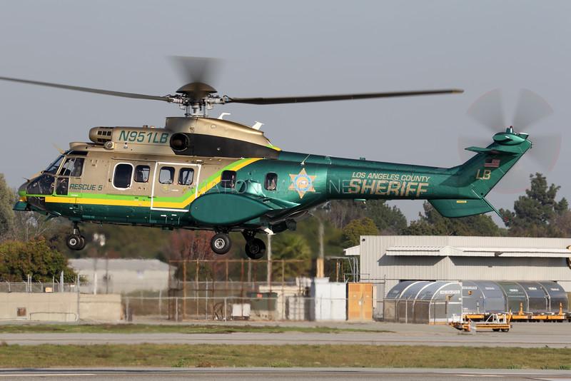 N951LB   Aerospatiale AS 332L1 Super Puma   Los Angeles County Sheriff