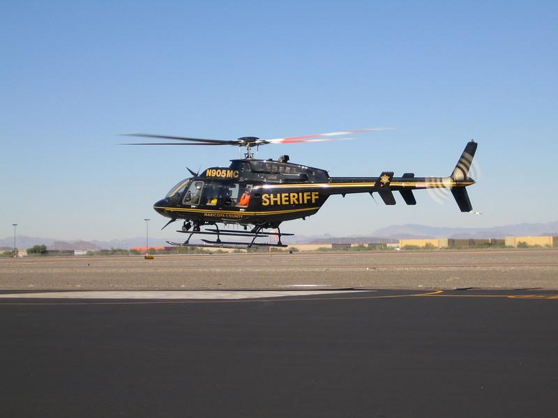 MCSO Bell Ranger 407 1997 #N905MC a