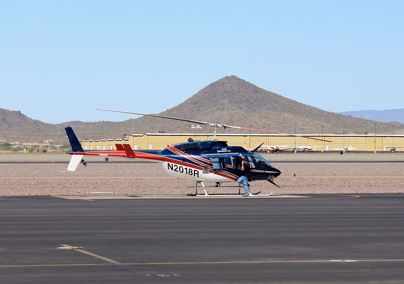 Airlift Helicopters 1981 Bell Ranger 206L-1 #N2018R