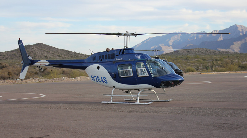 1978 Bell 206B #N284S