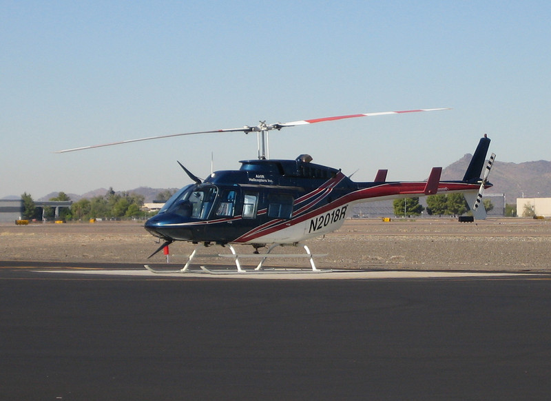 Airlift Helicopters Bell Jet Ranger 206L-1 1981 #N2018R