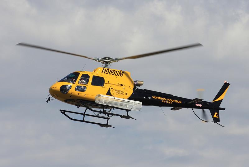 Silverton Mountains 2011 Eurocopter AS 350 B3 #N989SM